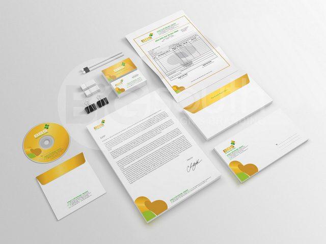 Thiết kế bộ nhận diện thương hiệu là đối tác của kinh doanh 2
